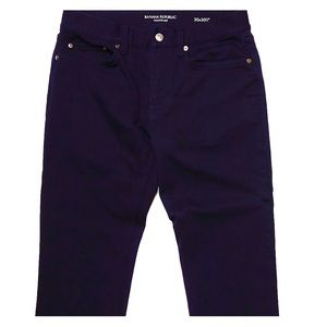 Banana Republic Navy 5 Pocket Chino
